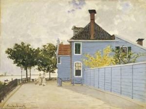 blauwe huis