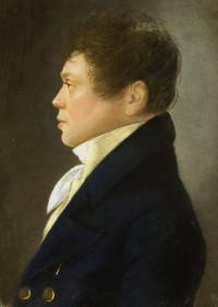 Portret van J. Agesz. Kool, collectie HBHuis