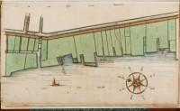 Kaart van Zaandam. Bron: Gemeentearchief Zaanstad
